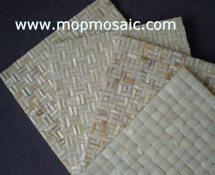 Mother of pearl mosaic(convex style)