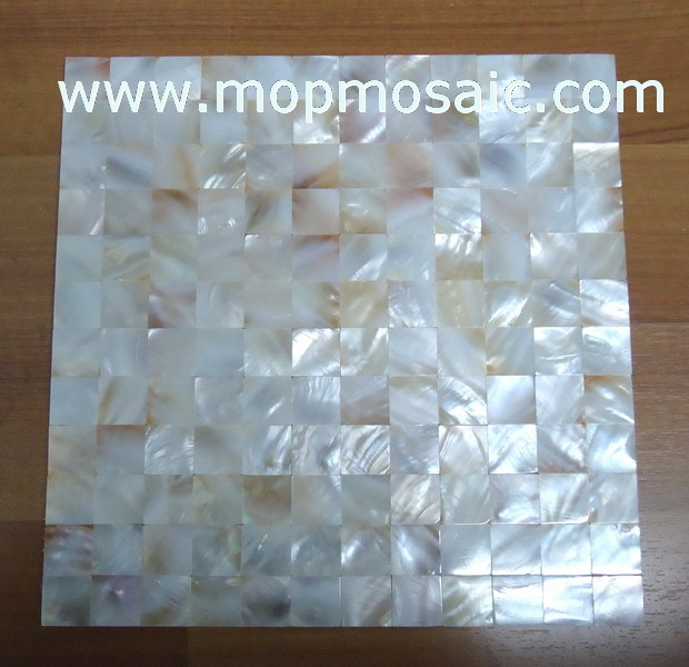 Natural color shell mosaic,seamless mother of pearl mosaic