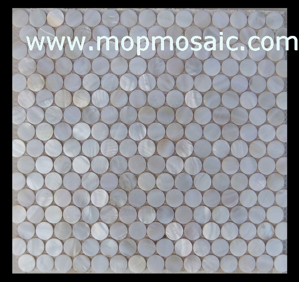 white river shell mosaic(coin shell mosaic)