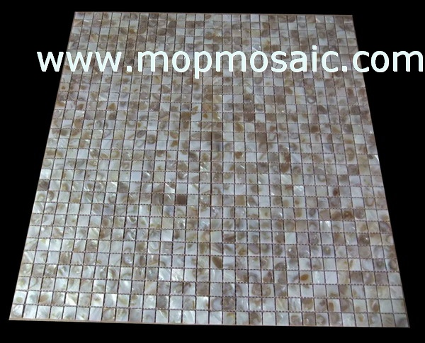 Common dapple color shell mosaic(15*15mm)