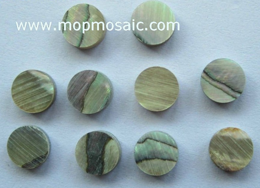 Abalone shell dots,paua shell dots,guitar dots