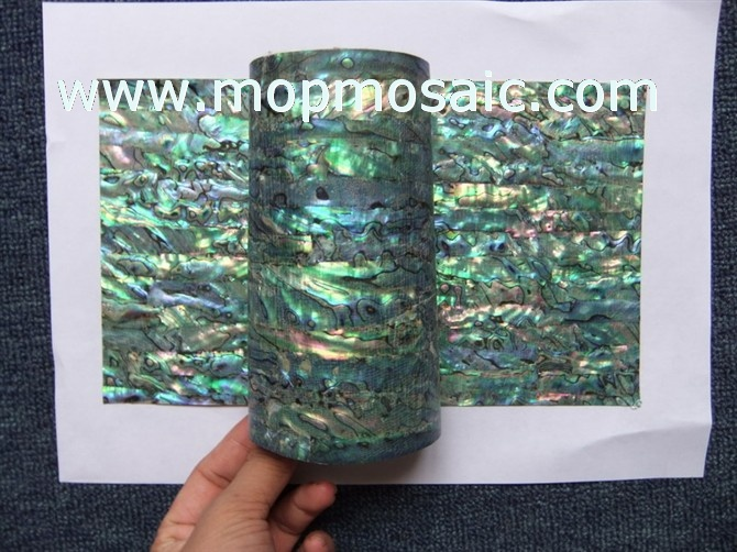 Flexible abalone shell paper,paua shell veneer,guitar sticker
