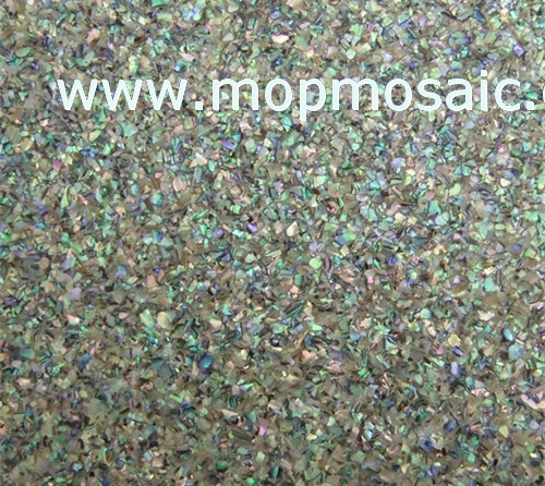 New Zealand abalone shell paper in stars