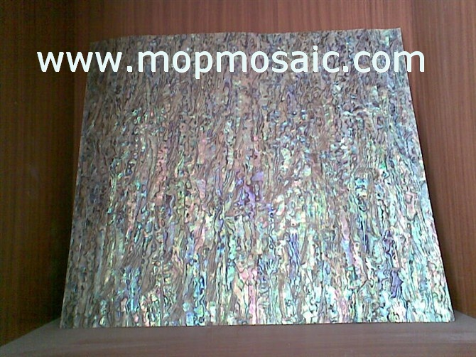 300x300mm New zealand red abalone shell laminate
