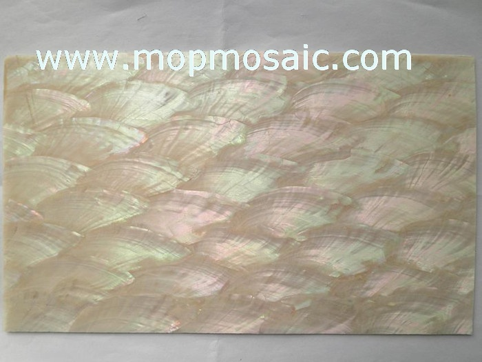 0.5mm thickness angle wing ablone shell laminate for luthier inlay