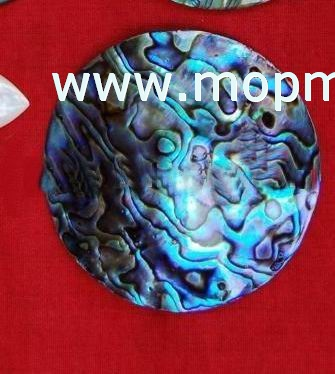 Abalone/paua mother of pearl shell tiles