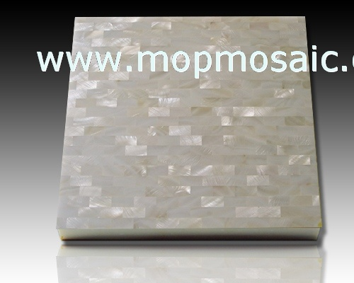 Mother of pearl shell tiles(in brick)