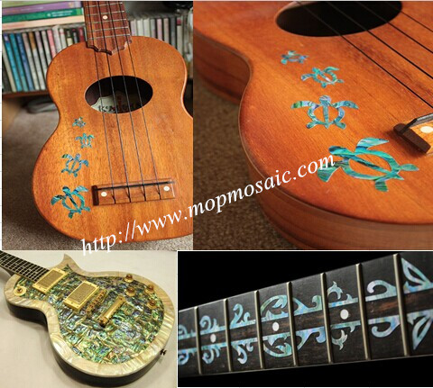 Abalone guitar inlay