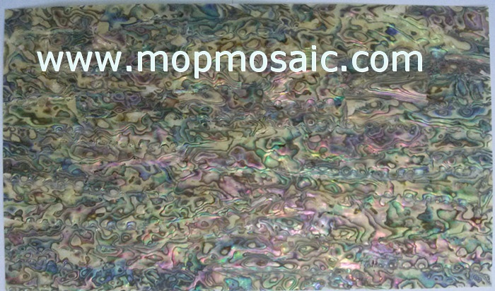 0.5mm thickness red abalone shell lamiante for luthier inlay
