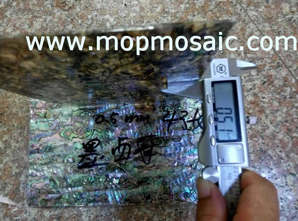 0.5mm thickness mexican abalone shell sheet