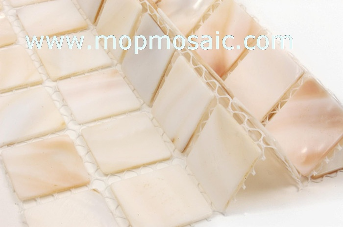 natural color mother of pearl mosaic